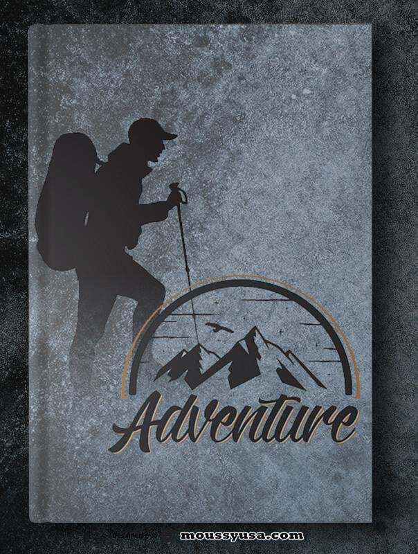Sample Adventure Book Cover Templates