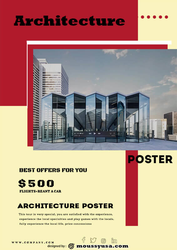 Sample Architecture Poster Template