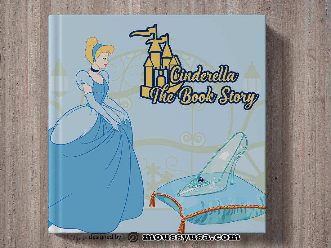 Sample Children Story Book Cover Templates