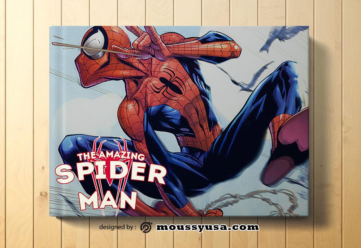 Sample Comic Book Cover Templates