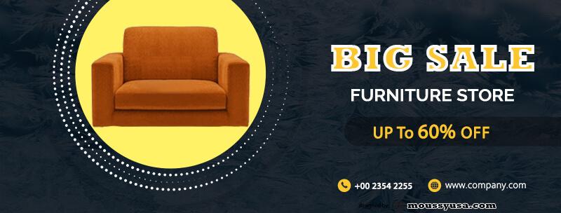 Sample Furniture Banner Template