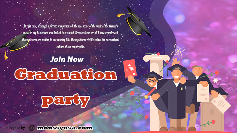 Sample Graduation Banner Template