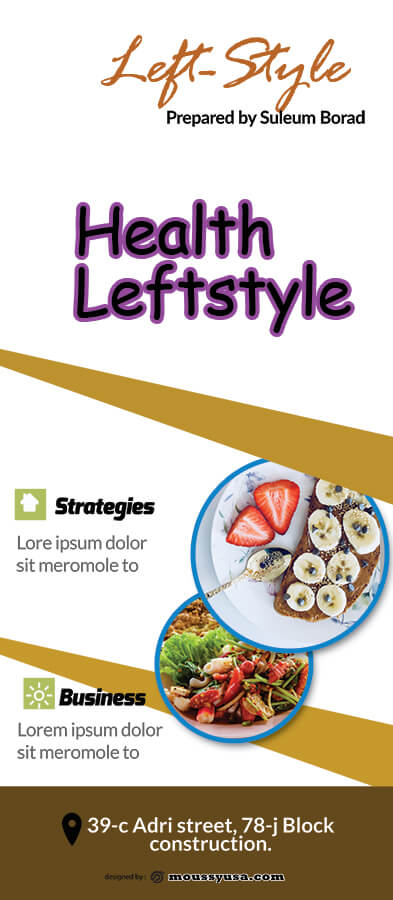 Sample LifeStyle Banner Template