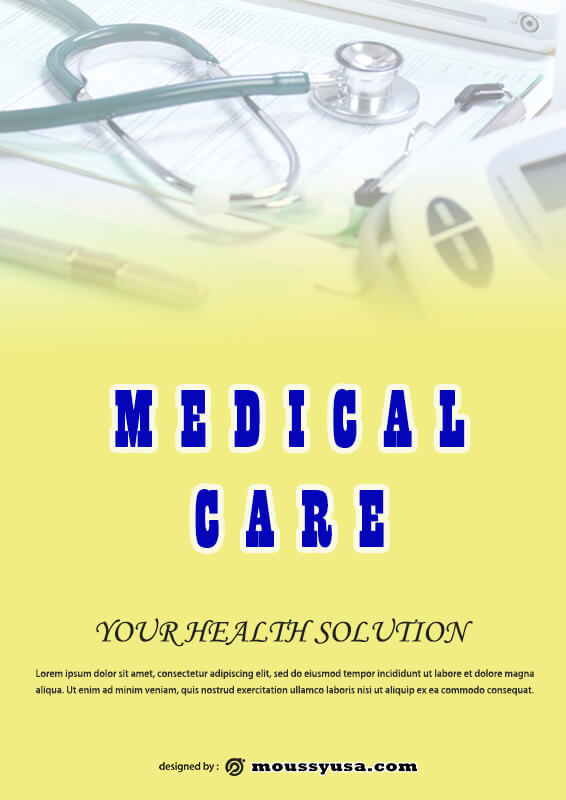 Sample Medical Poter Template