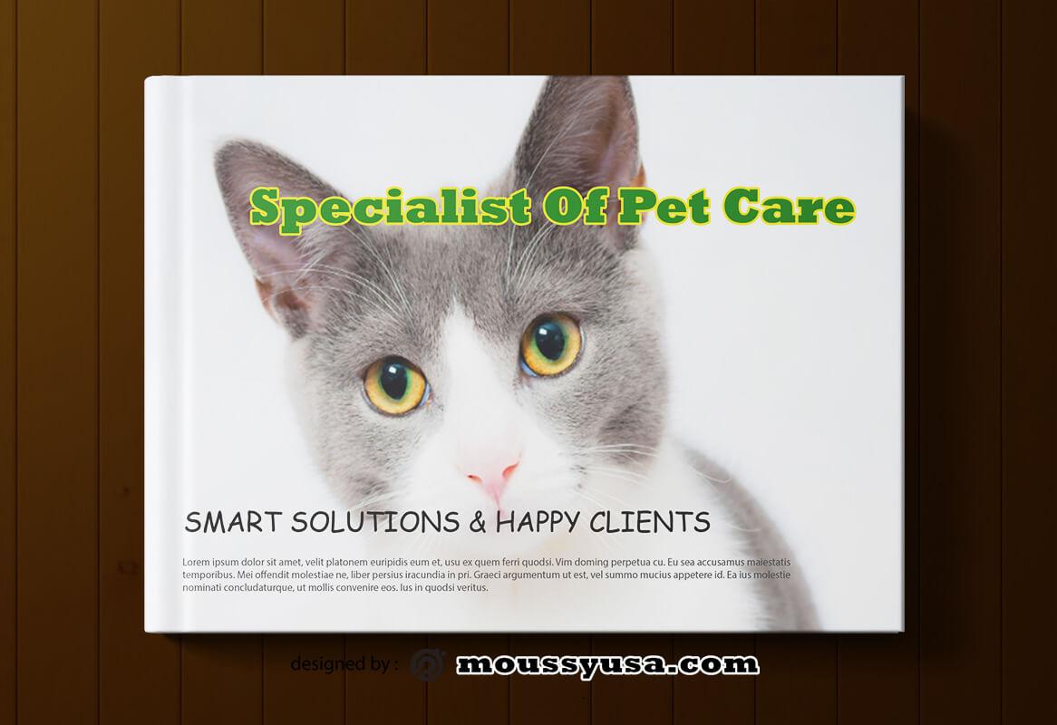 Sample Pet Care Book Cover Template
