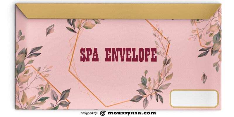 Sample SPA Envelope Template