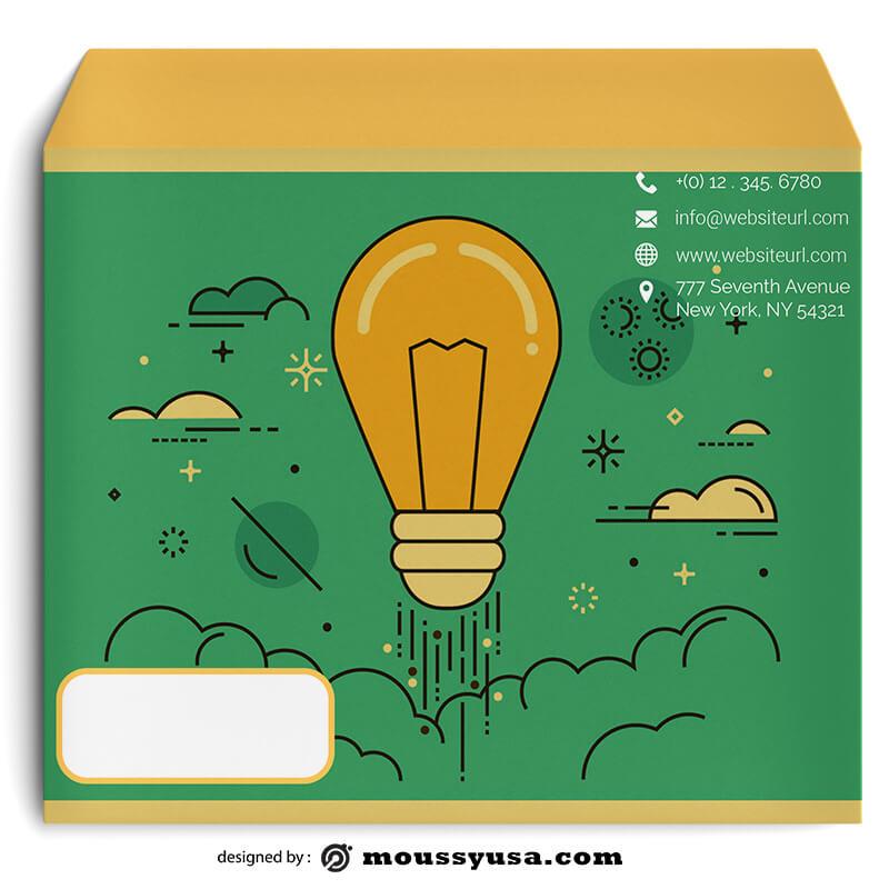 Sample Start UP Envelope Template