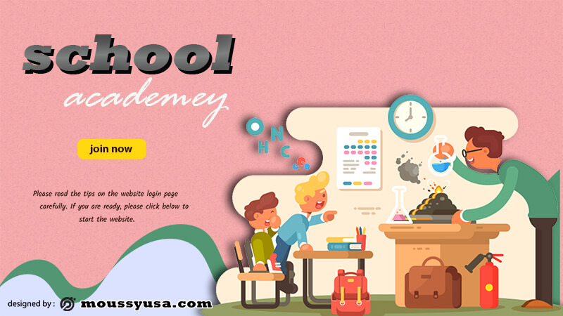 School Banner Template Example