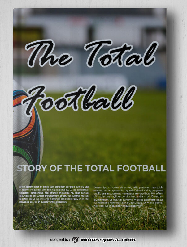 Soccer Book Cover Design Ideas