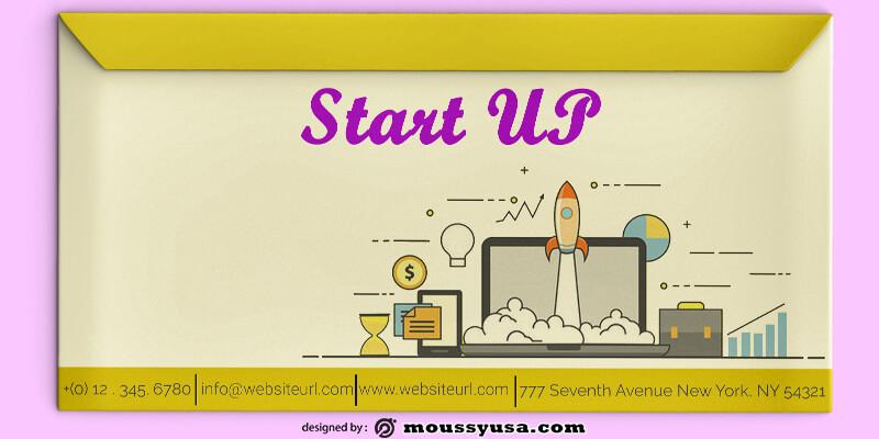 Start UP Envelope Template Sample