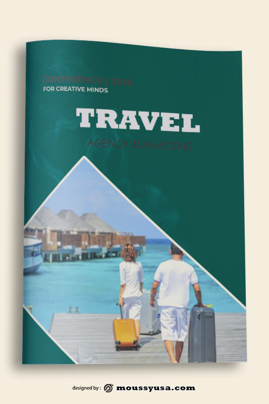 Travel Agency Book Cover Design Ideas