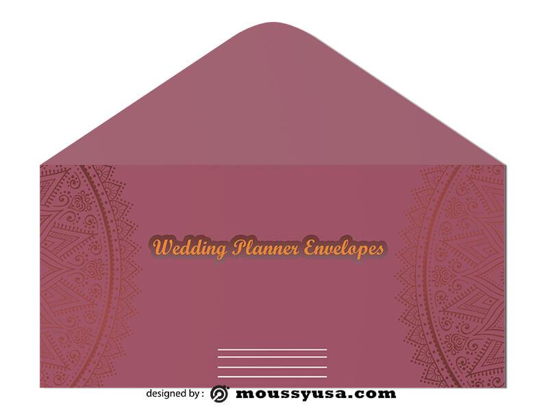 Wedding Planner Envelope Design Ideas
