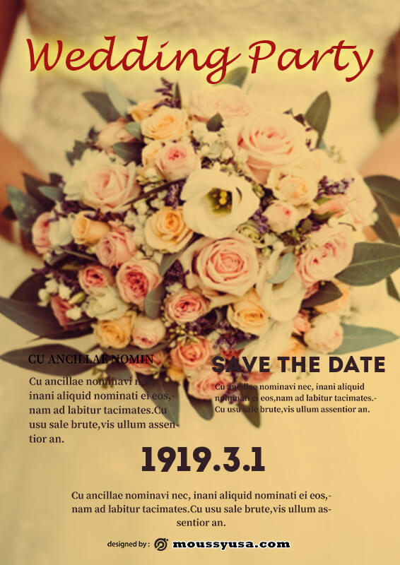 Wedding Poster Design Ideas