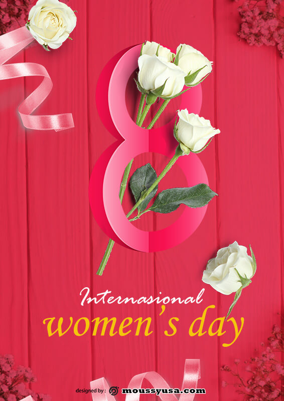 Womens Day Poster Template Ideas