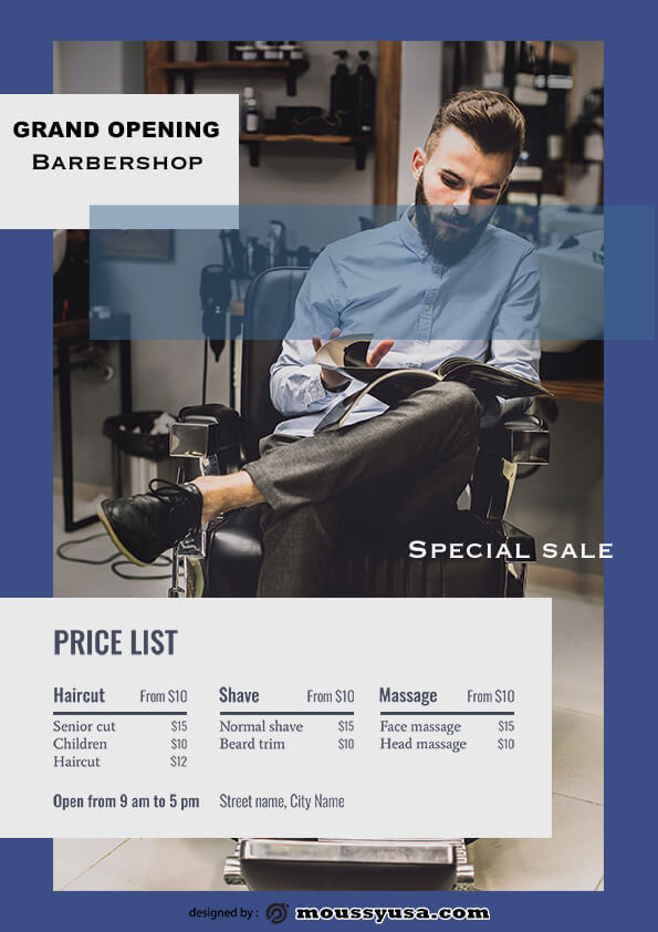 barbershop grand opening