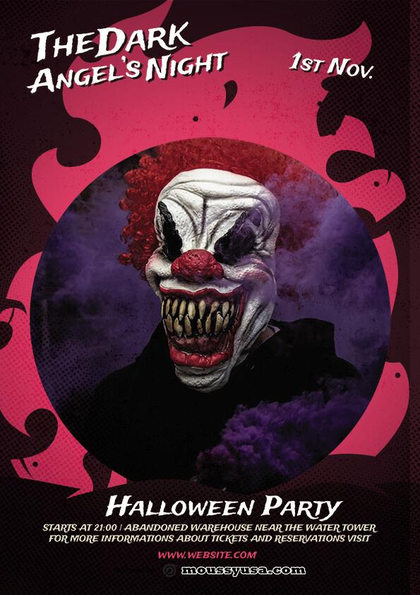 sample Free Halloween Skull Flyer templates