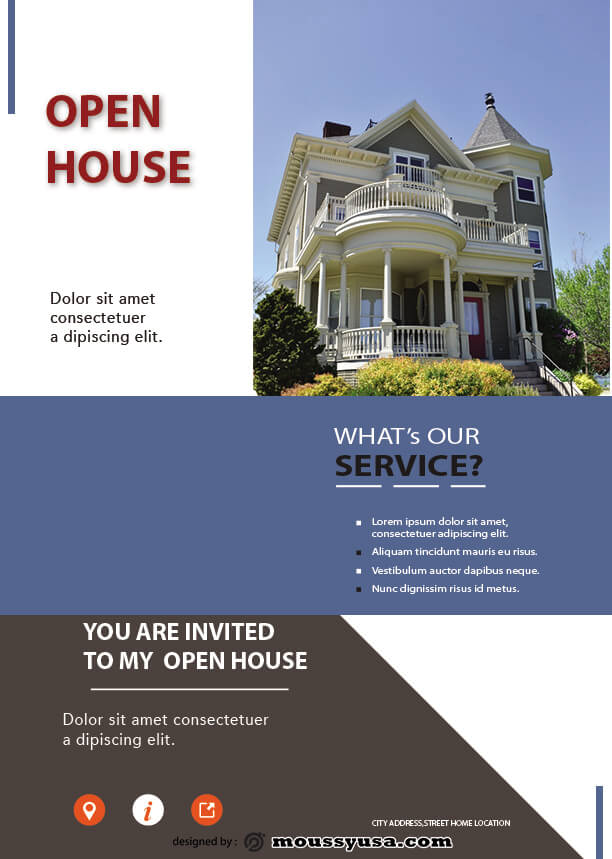 sample Free Home Real Estate Flyer templates