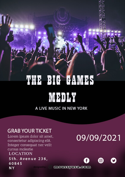 sample Live Music Festival Flyer templates