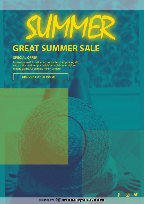 sample summer sale templates