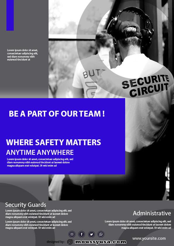 security guard template ideas
