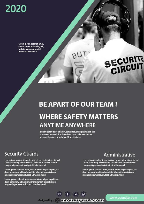 security guard template sample