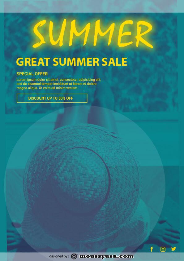 summer sale template ideas