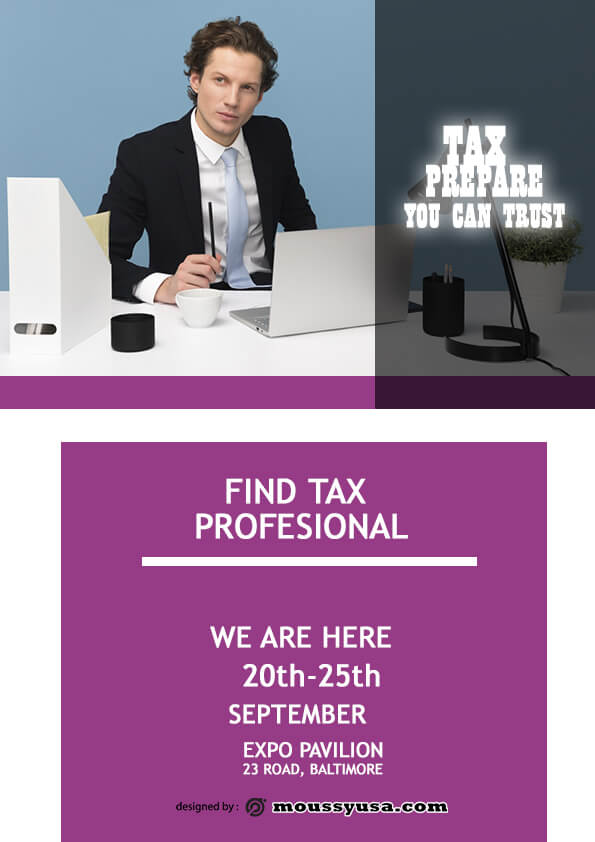 tax prepare flyer template ideas
