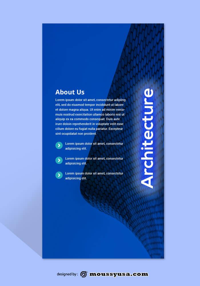 Architecture Rack Card Template Ideas