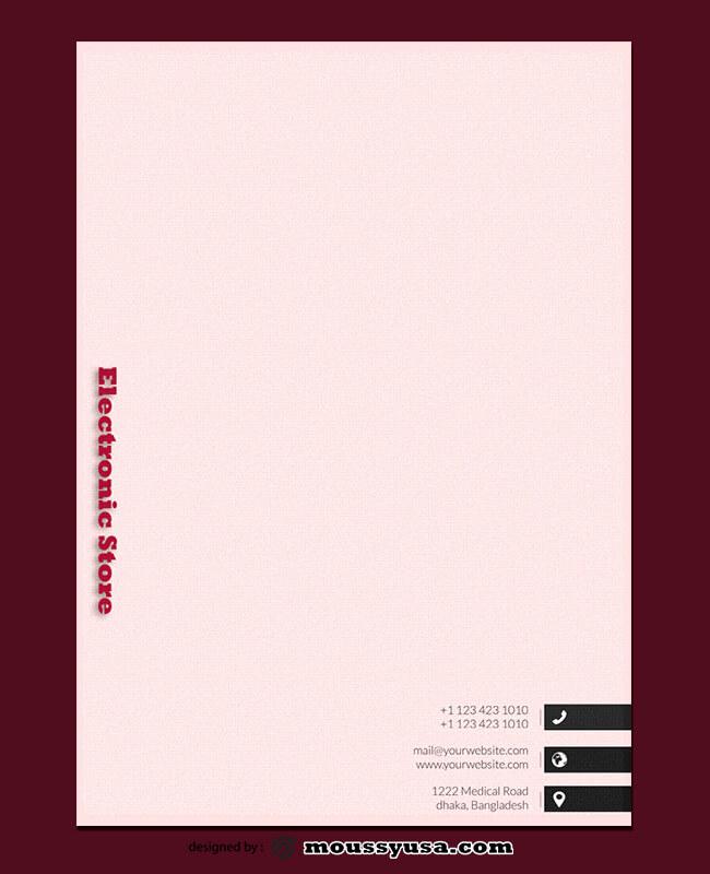 Electronic Letterhead Design Ideas