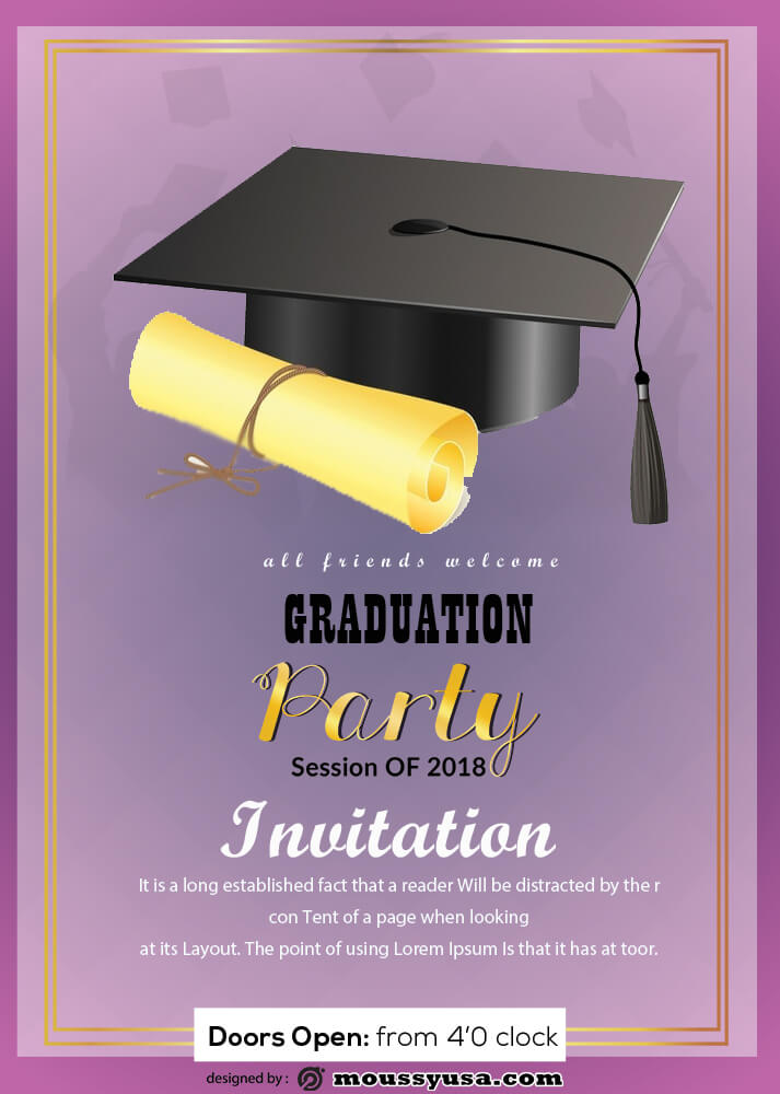 Graduation Invitation Design Ideas