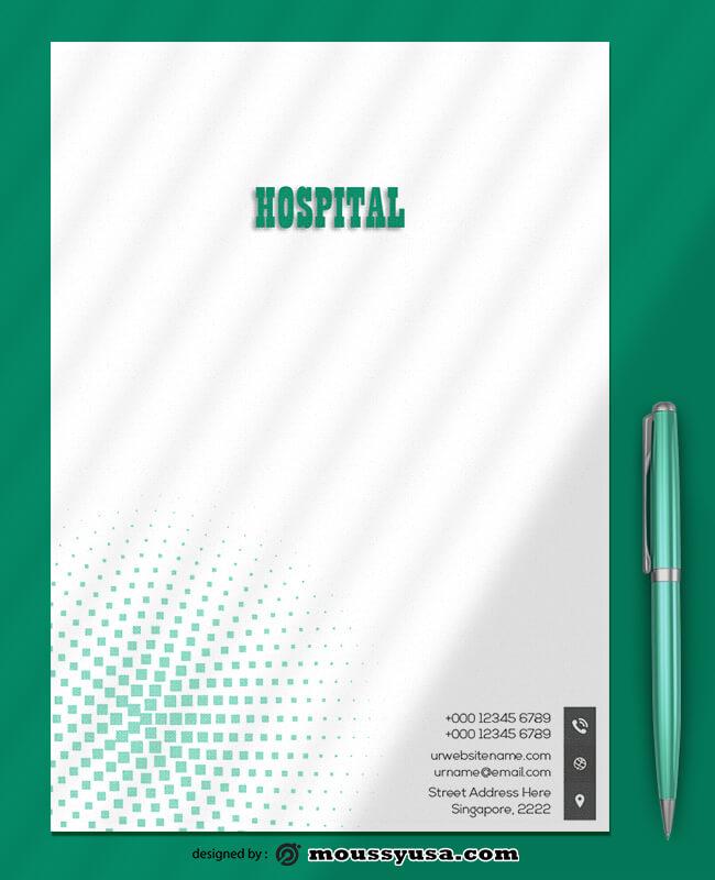 Hospital Letterhead Design Ideas