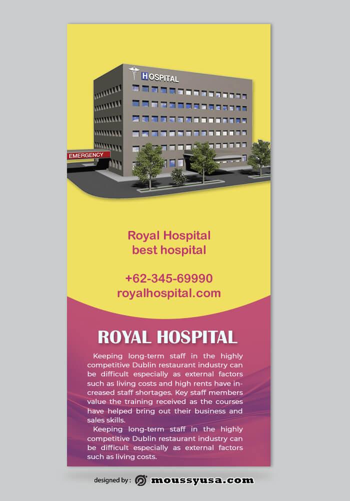 Hospital Rack Card Design Ideas