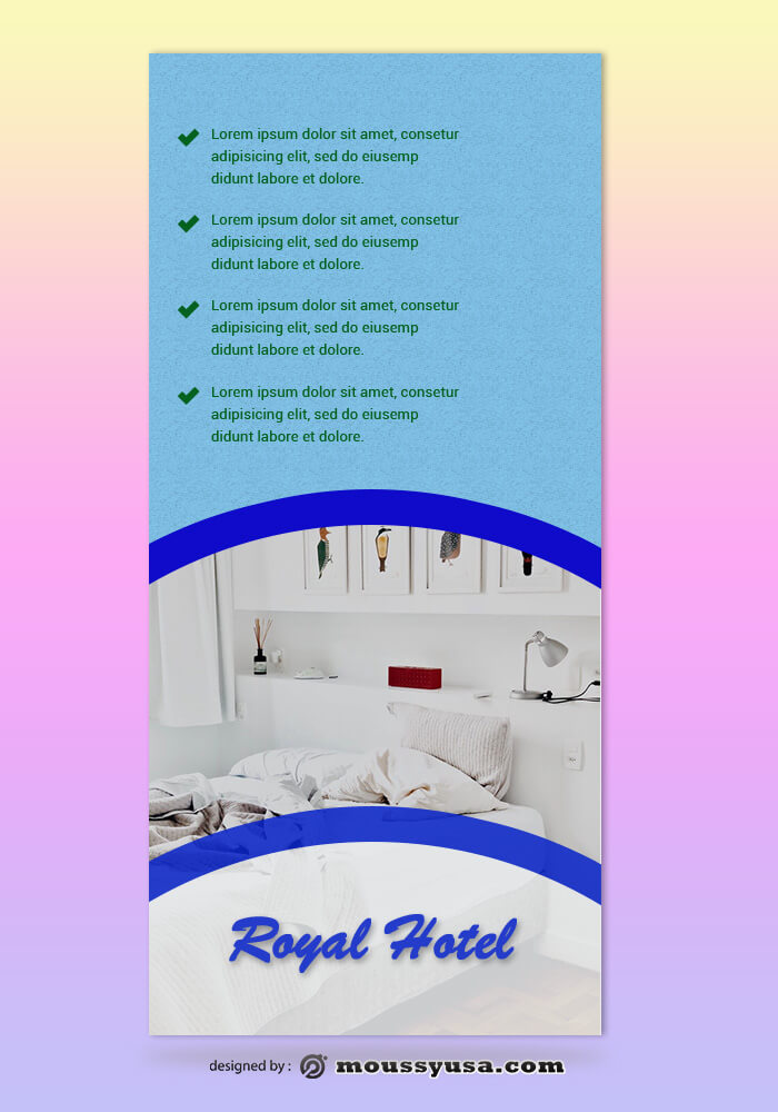 Hotel Rack Card Design Ideas