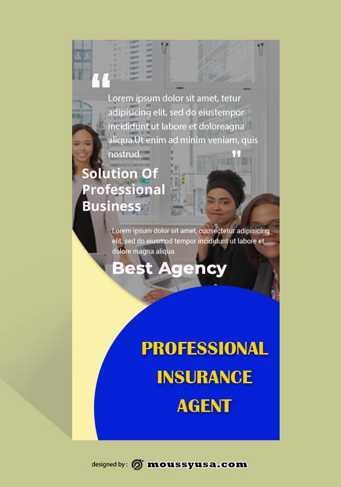 Insurance Agent Rack Card Design Ideas