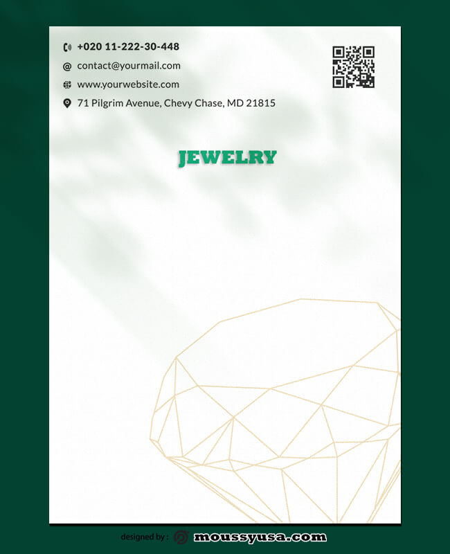 Jewelry Letterhead Templates Ideas