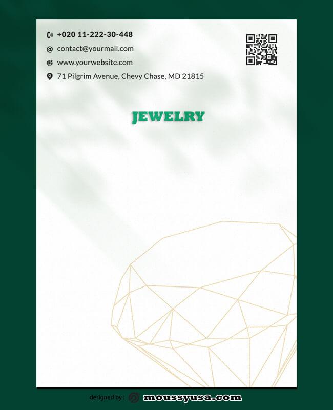 Jewelry Letterhead Templates Ideas