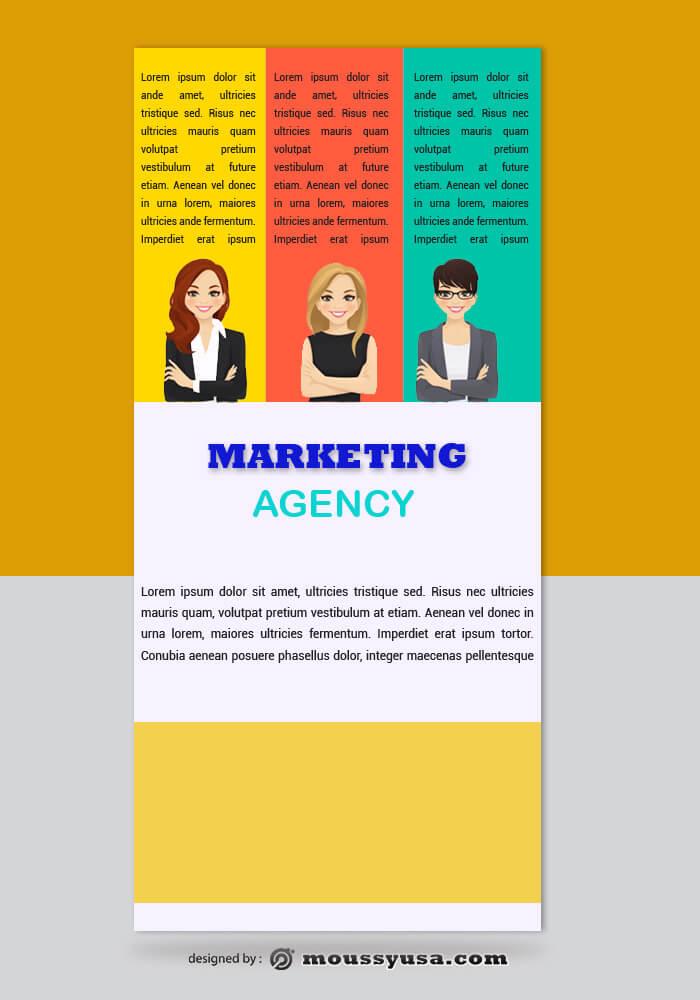 Marketing Agency Rack Card Design Ideas