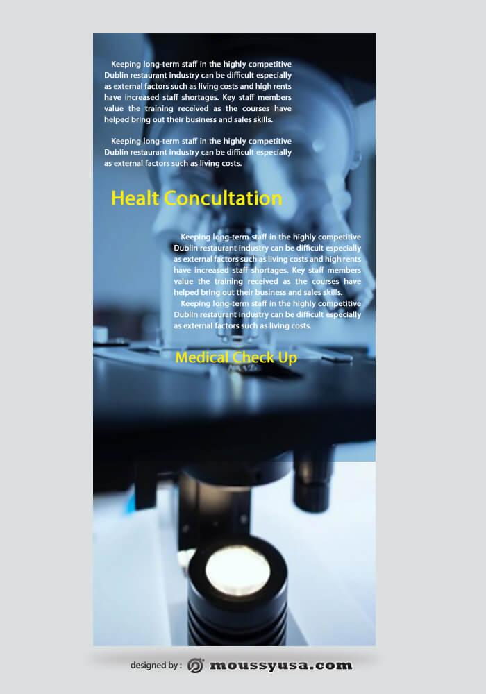 Medical Rack Card Template Ideas