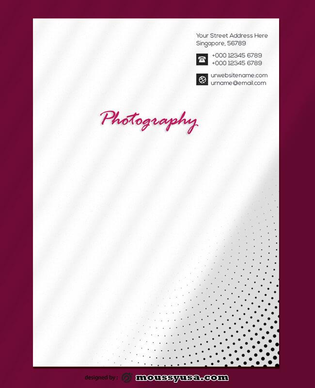 Photography Letterhead Templates Ideas