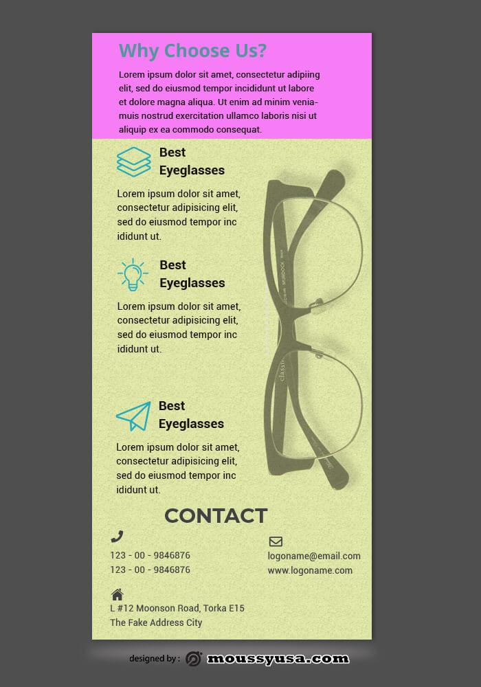 Sample Optical Sore Rack Store Template