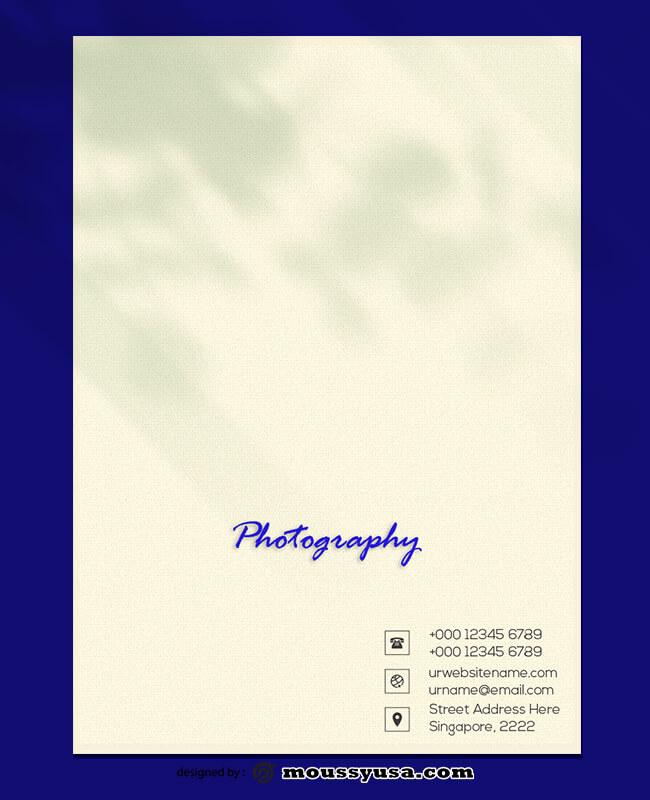 Sample Photography Letterhead Design
