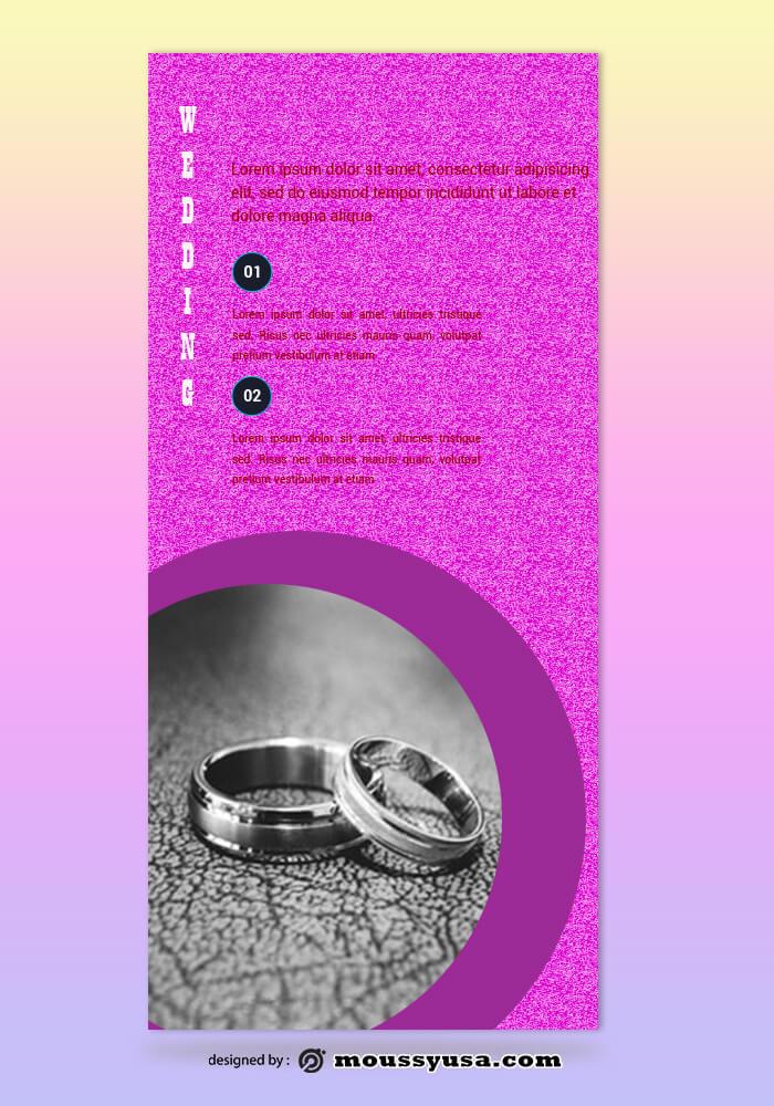 Wedding Photography Rack Card Template Ideas
