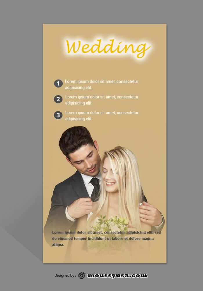 Wedding Photography Rack Card Template Sample