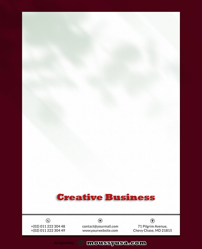 Creative Business Letterhead Design Ideas