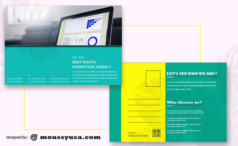 Marketing Postcard Template Ideas