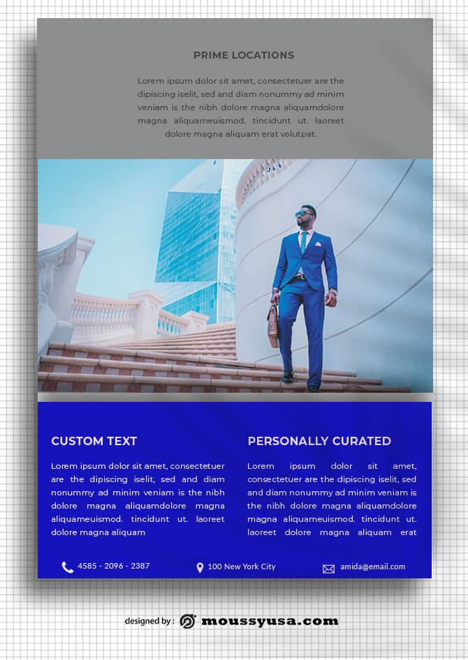 Business Data Sheet templates Sample