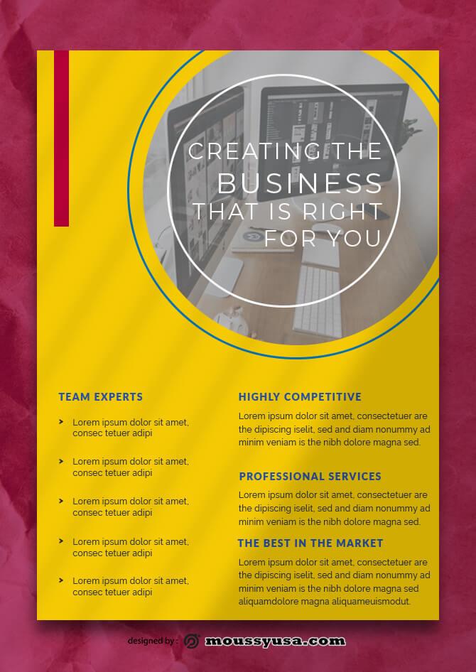 Company Profile Data Sheet Design Ideas
