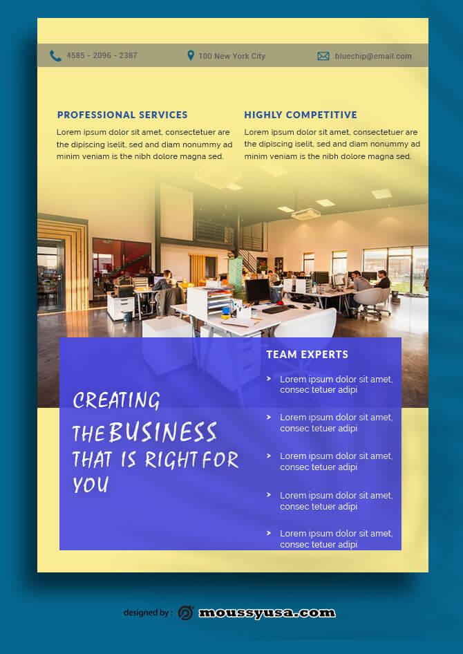 Company Profile Data Sheet Design templates