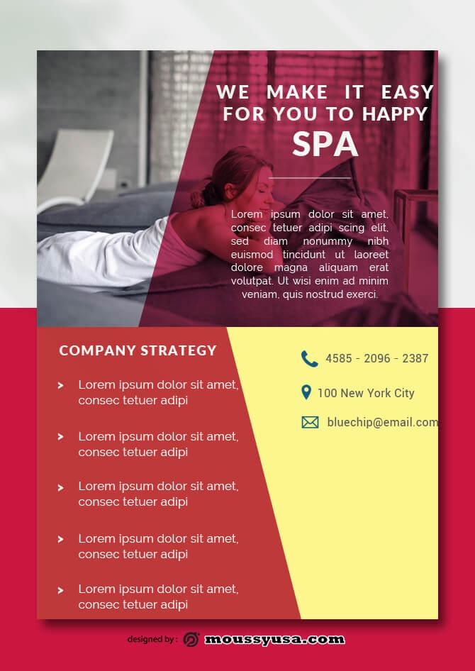 Health SPA Data Sheet templates Ideas