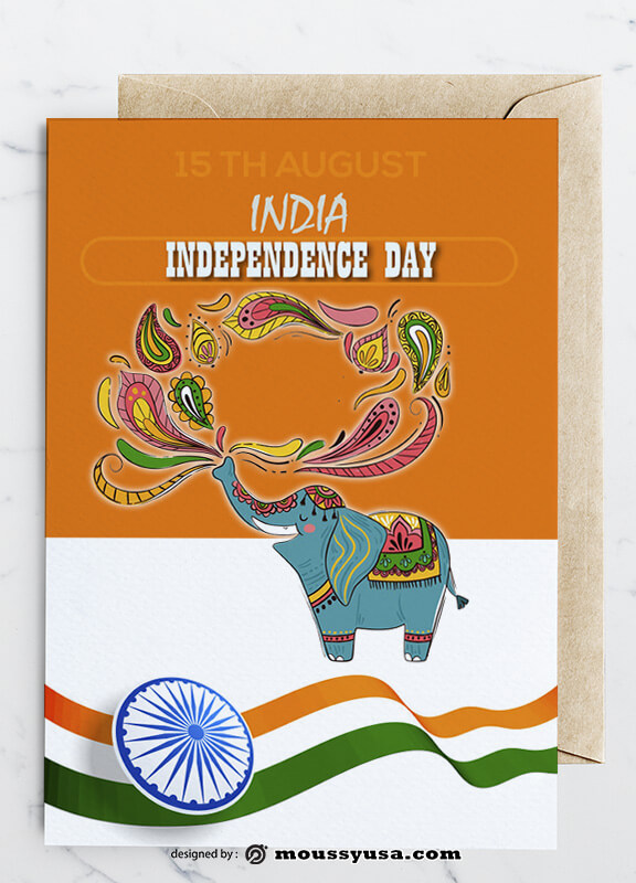 Independence Day Greeting Card Design Ideas